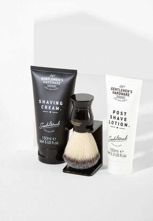 Gents Shaving Kit Gift Set