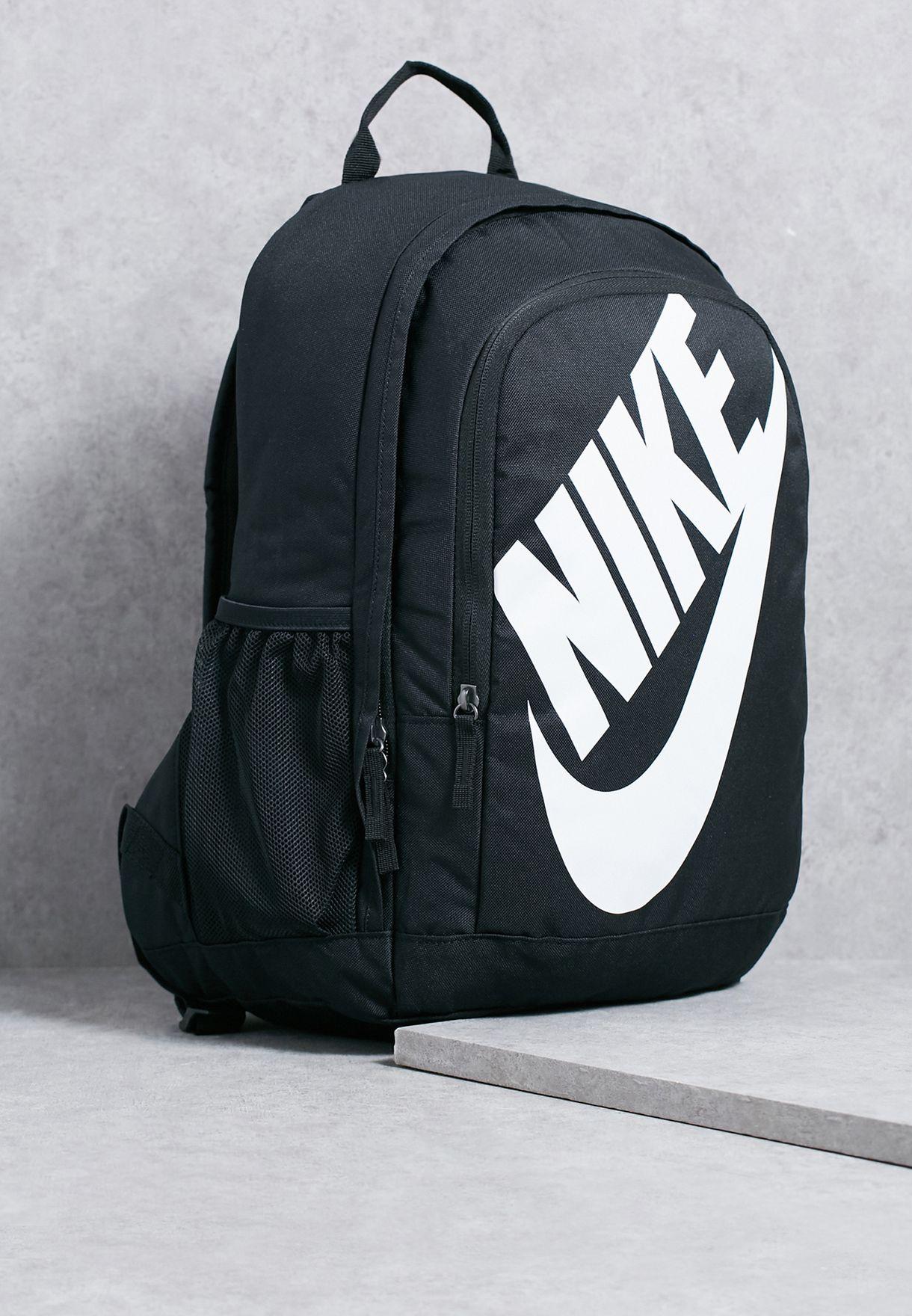 1b12a79acd42f Shop Nike black Hayward Futura 2.0 Backpack BA5217-010 for Kids in ...