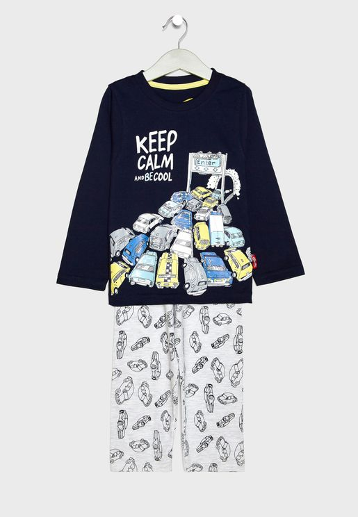 Kids Graphic Pyjama Set