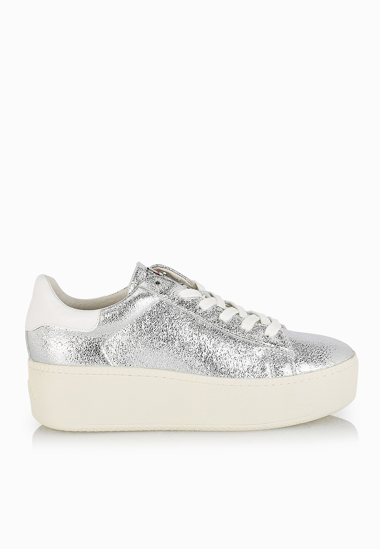 Metallic Women In For Ash Shop Cult Silver Sneakers Bahrain BxoedC