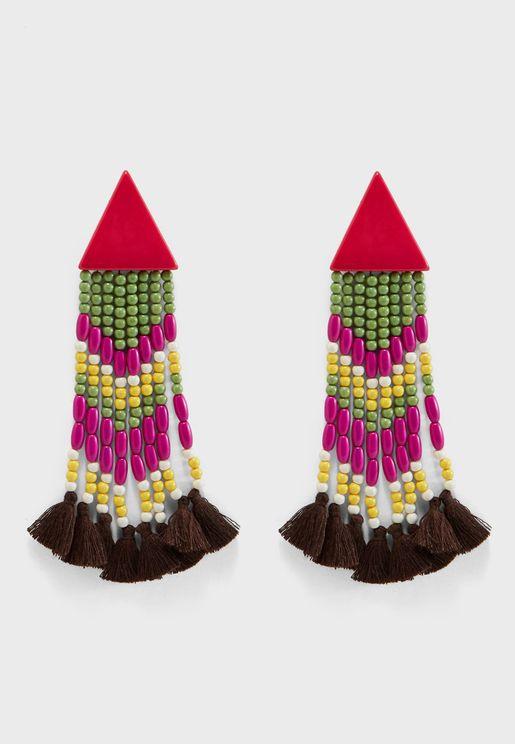 Homng Tassel Earrings