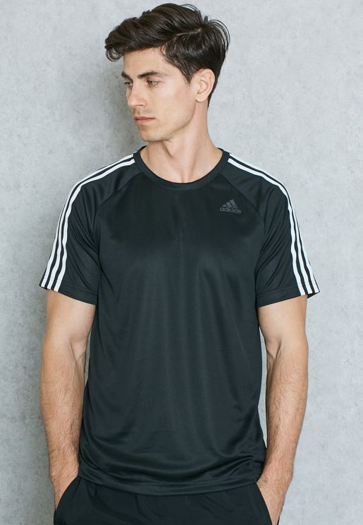 D2M 3 Stripe T-Shirt