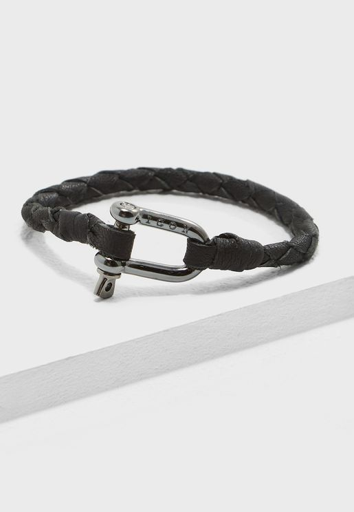 Shackle Closure Bracelet
