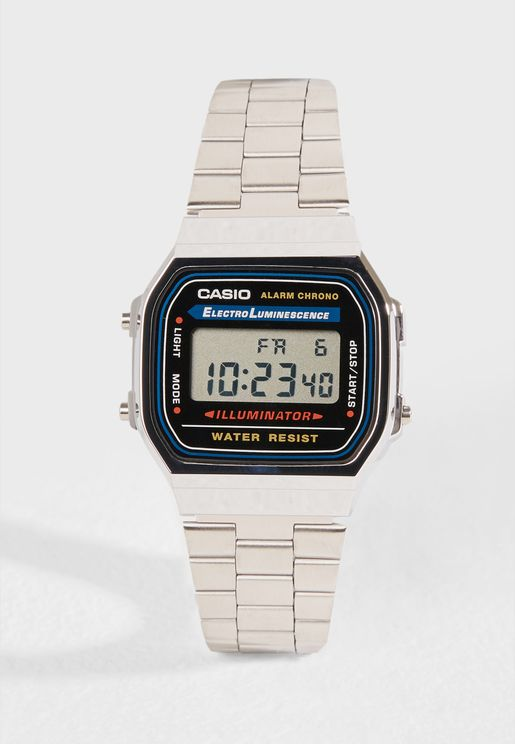 A168WA-1WDF Digital Watch