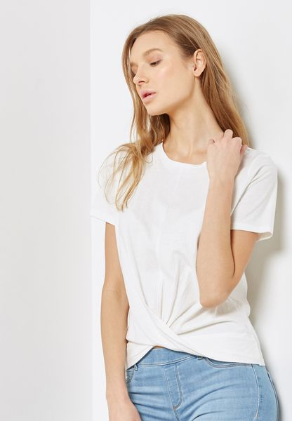 Twisted Front T-Shirt