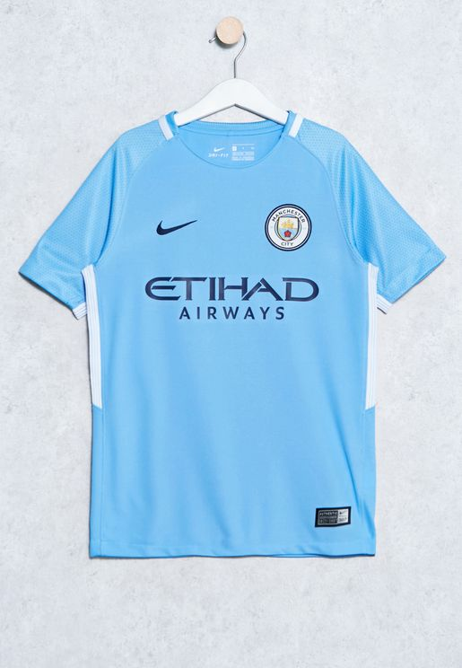 Youth Manchester City Stadium Home Jersey