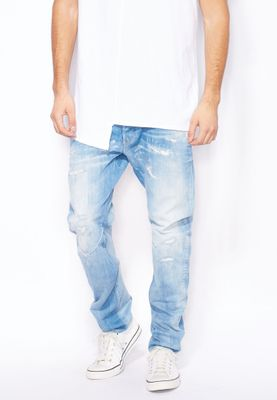 G-Star Raw Keat Arc Slim Fit Mid Wash Jeans