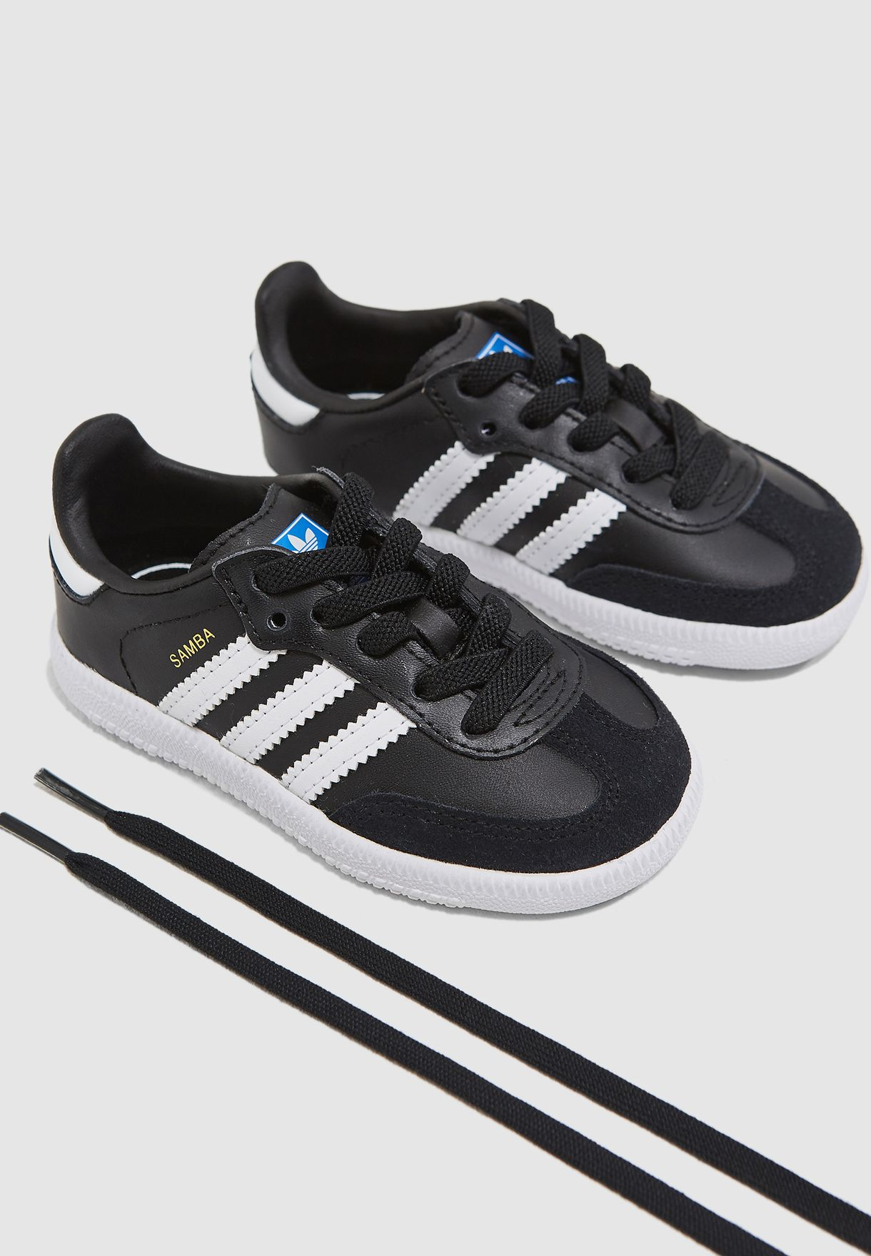 ecf3a9ed8ab9 Shop adidas Originals black Infant Samba OG EL B42129 for Kids in Oman -  AD478SH03KIE