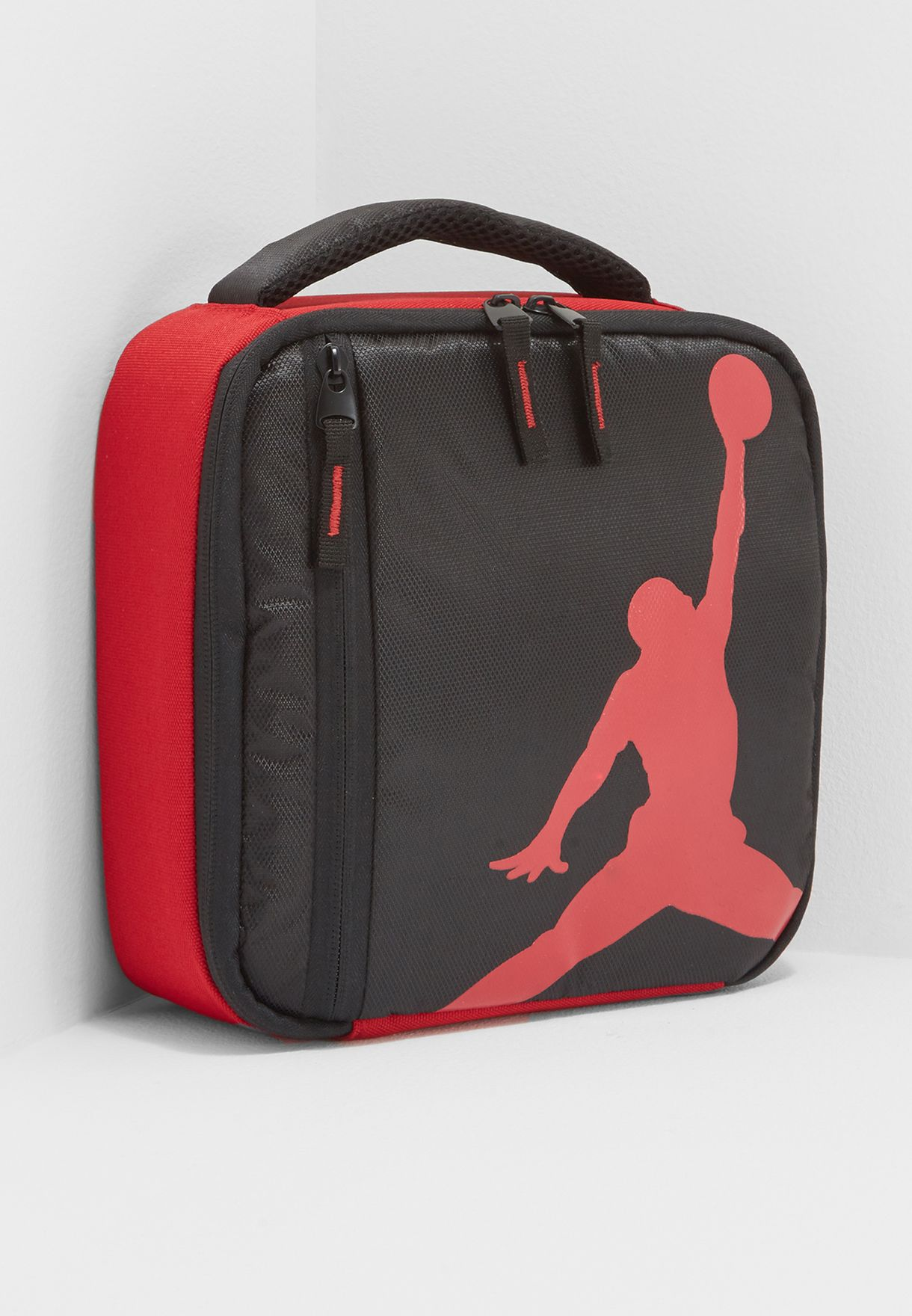 a4634706a7505f Shop Nike black Air Jordan Lunch Tote 9A1946-KR5 for Kids in UAE ...