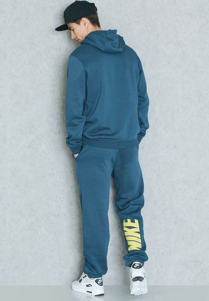 Shop Nike Blue Graphic Tracksuit 832228 464 For Men In