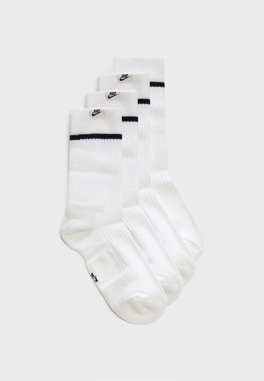 2 Pack Essential Crew Socks