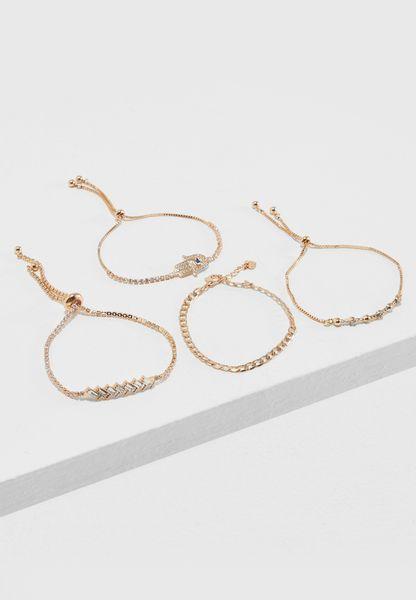 Ibaysa 4 Pack Bracelets