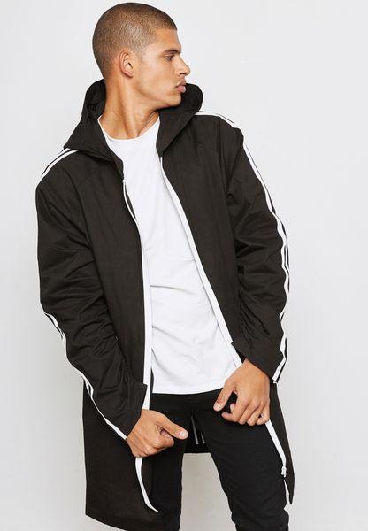 Long Hooded Coat