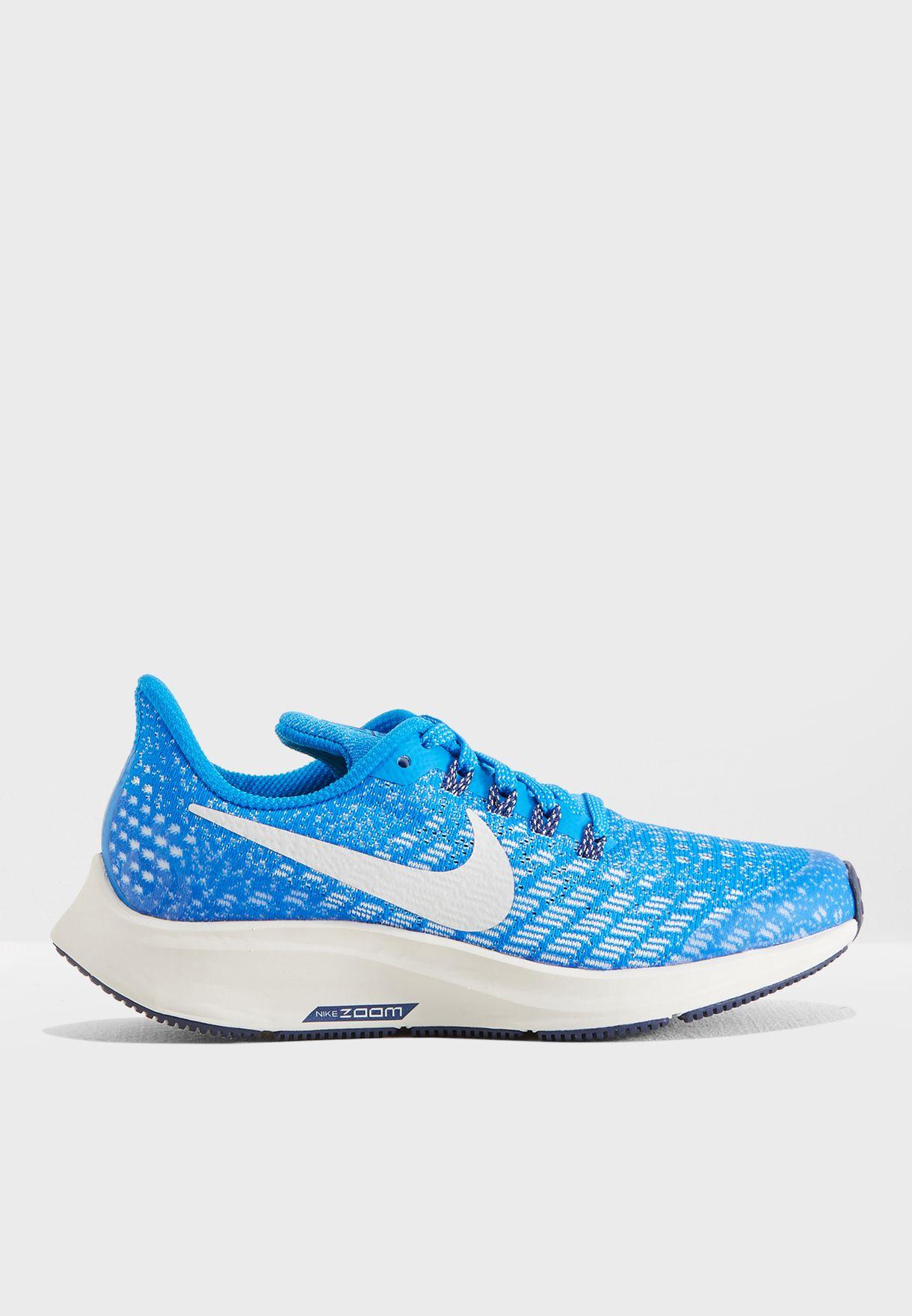 771861699 Shop Nike blue Youth Air Zoom Pegasus 35 AH3482-401 for Kids in UAE ...