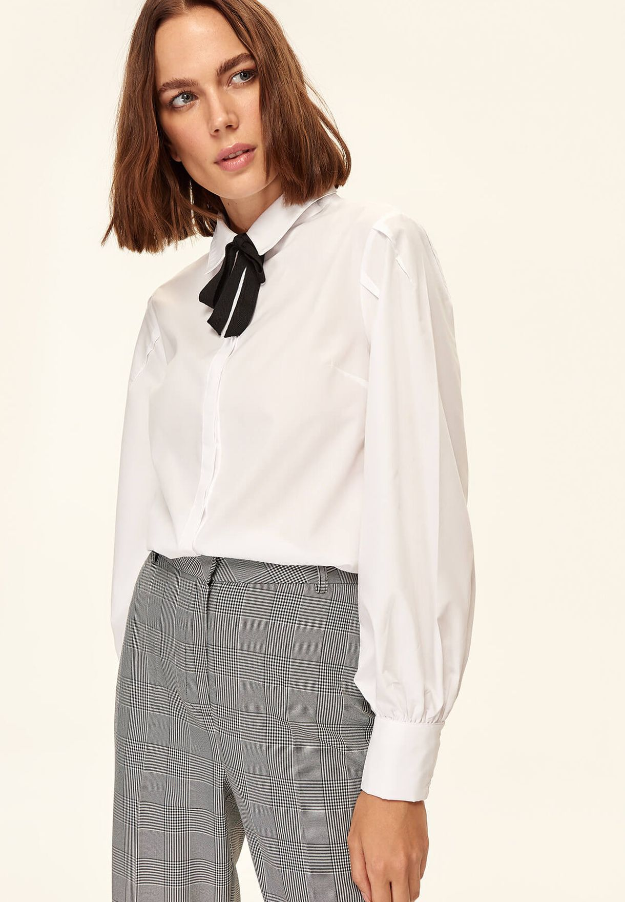 Bow Detail Shirt