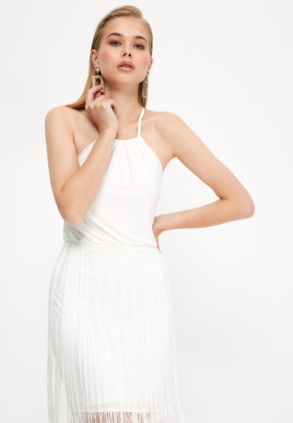 Tassel Detail Dress