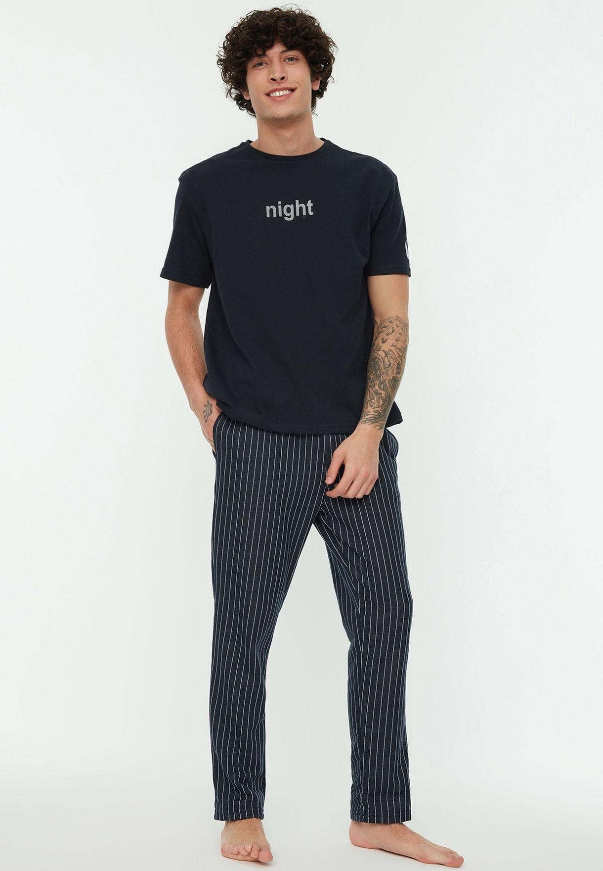 Essential Knitted Pajamas Set