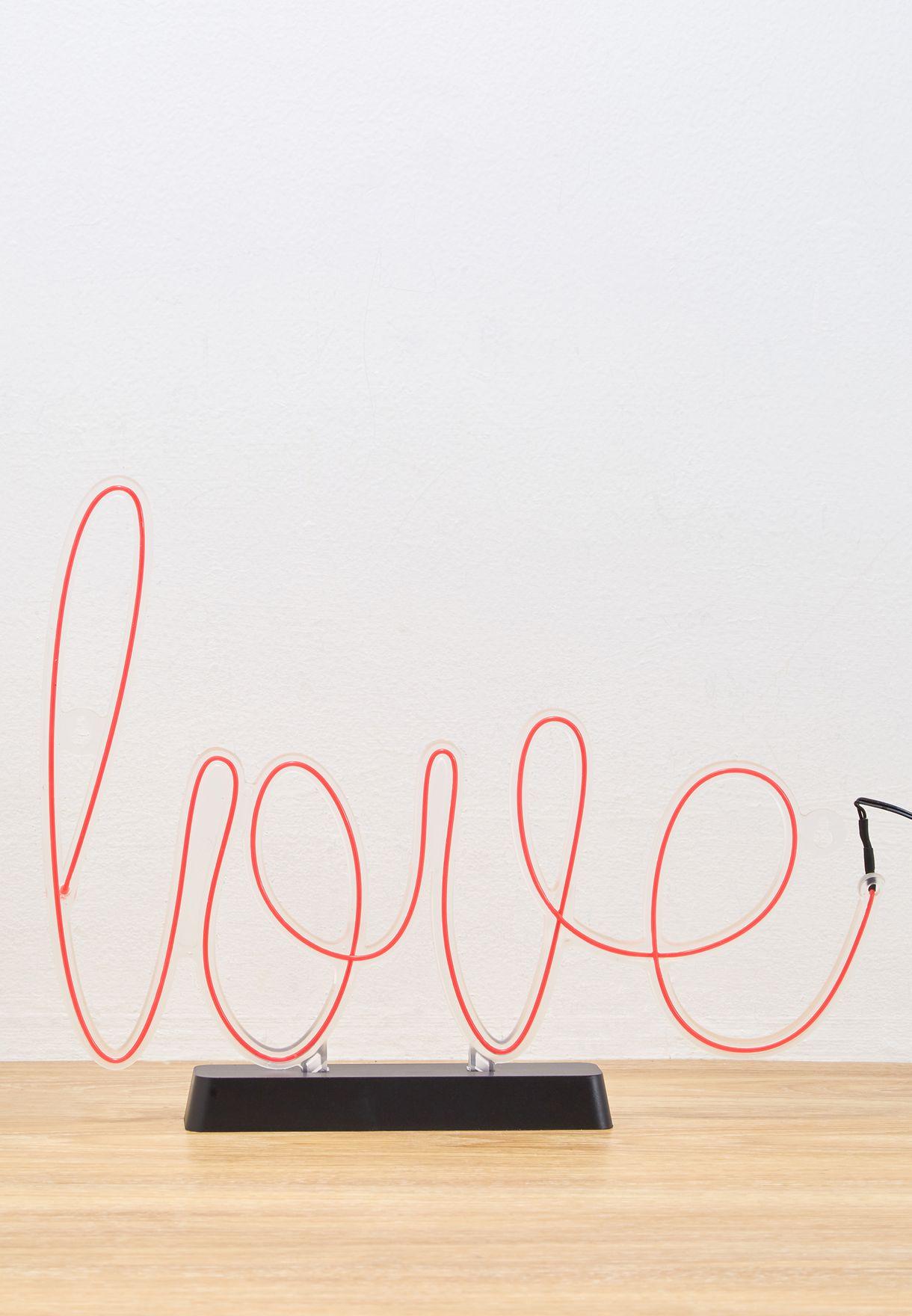 Love Sign Light