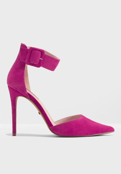 Topshop Women's Grace Ankle Strap Pump