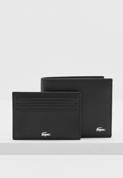 Large Leather Wallet + Cardholder