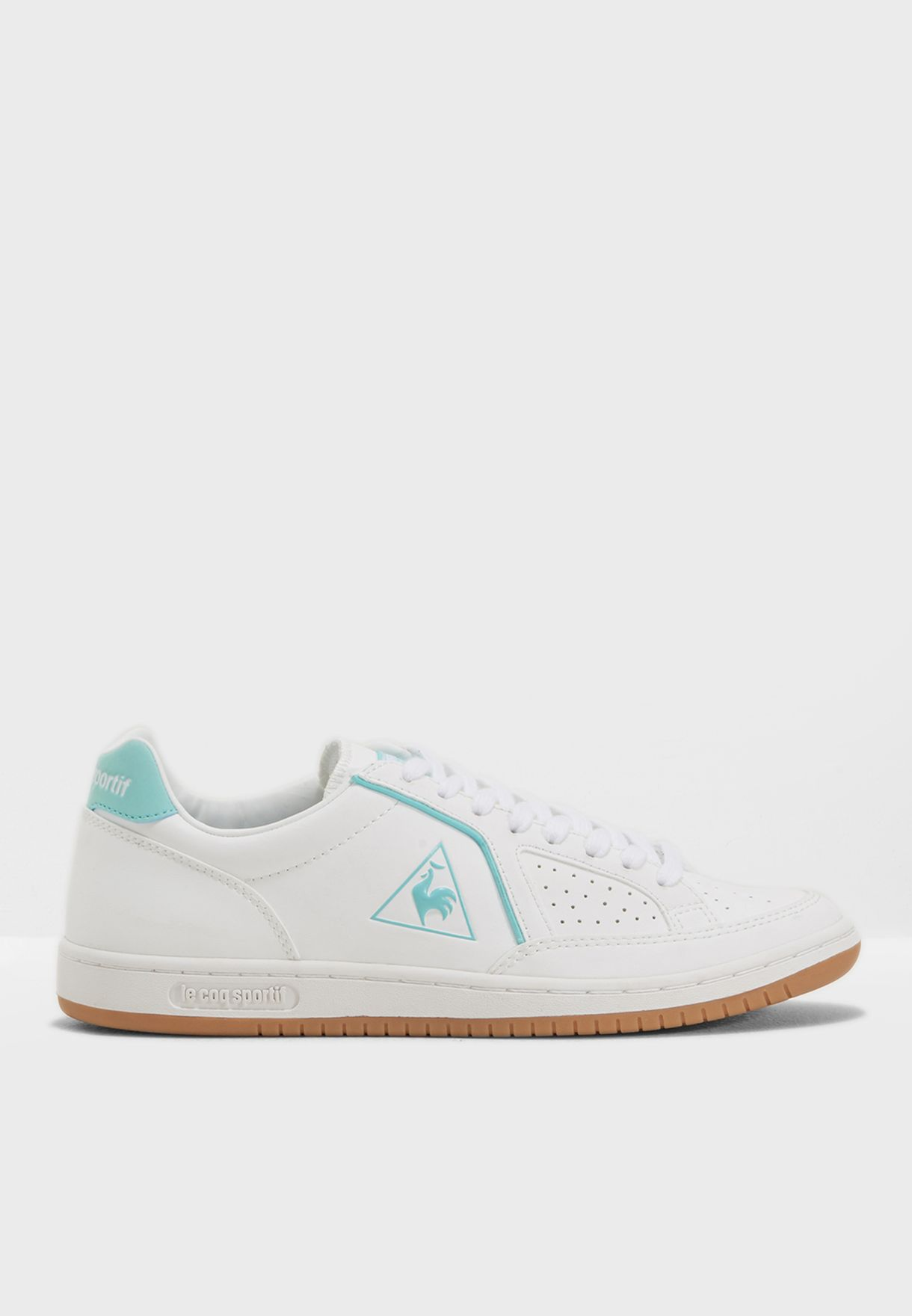 fd9e651b18a1 Shop Le Coq Sportif white Icons S Leather 1810132 for Women in Qatar -  LE012SH92TYT