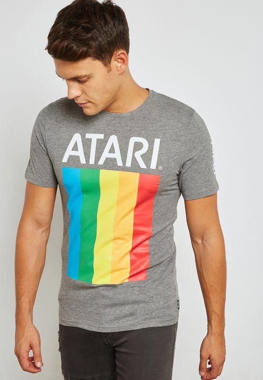 Atari  Crew Neck T-Shirt
