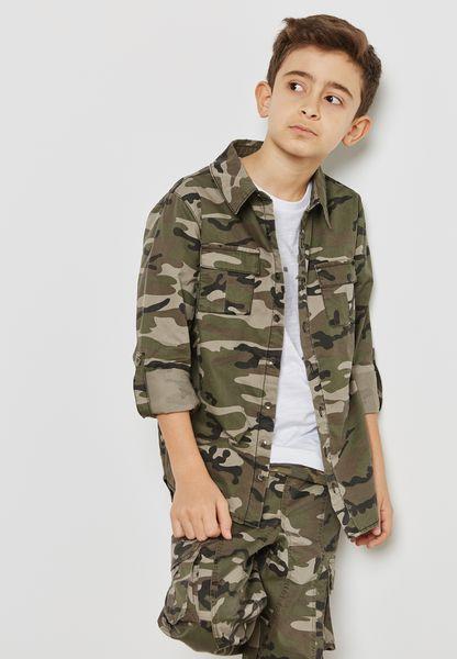 Teen Camo Shirt