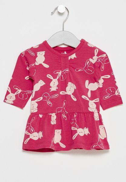 Infant Fekikki Printed Tunic Dress