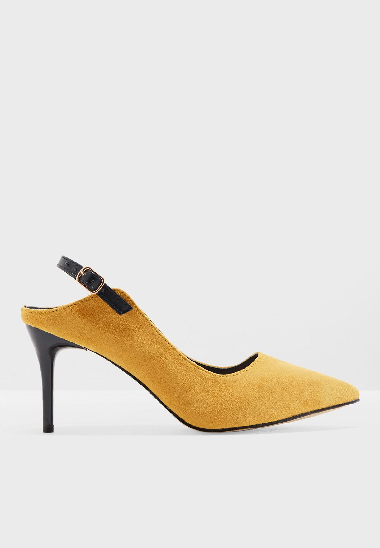Cut Out Heel Pumps