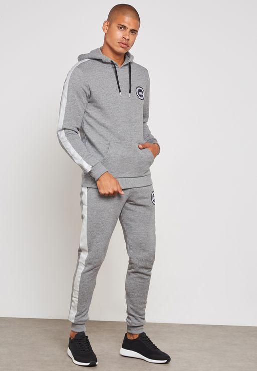 Stripe Crest Sweatpants