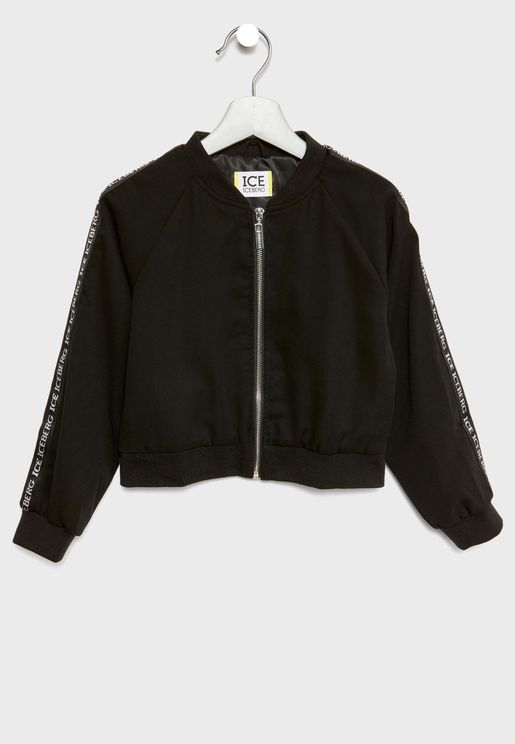 Little Giubbino Zip Through Jacket