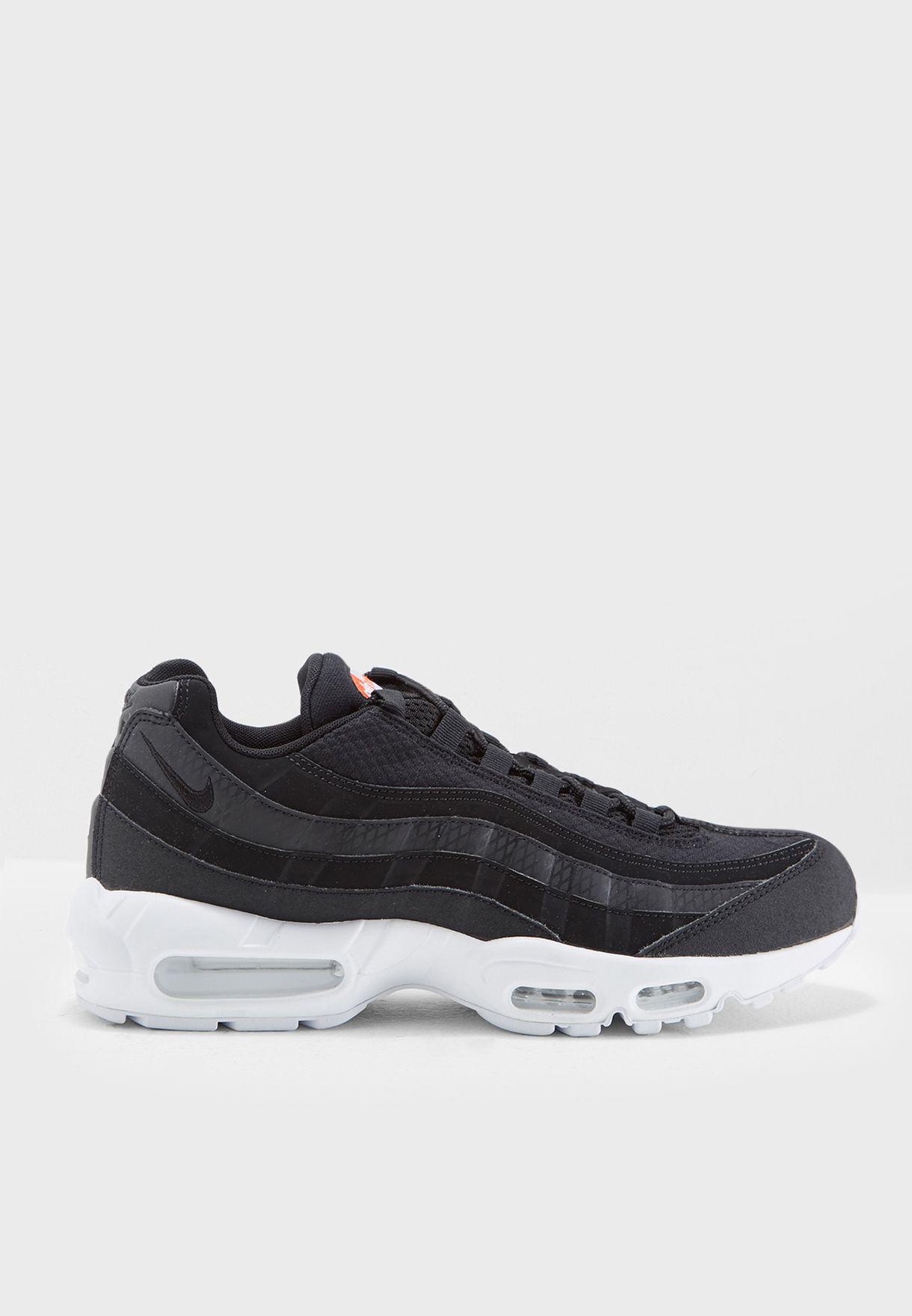 0e879eefbdb48a Shop Nike black Air Max 95 Premium SE 924478-001 for Men in Oman -  NI727SH92AKD