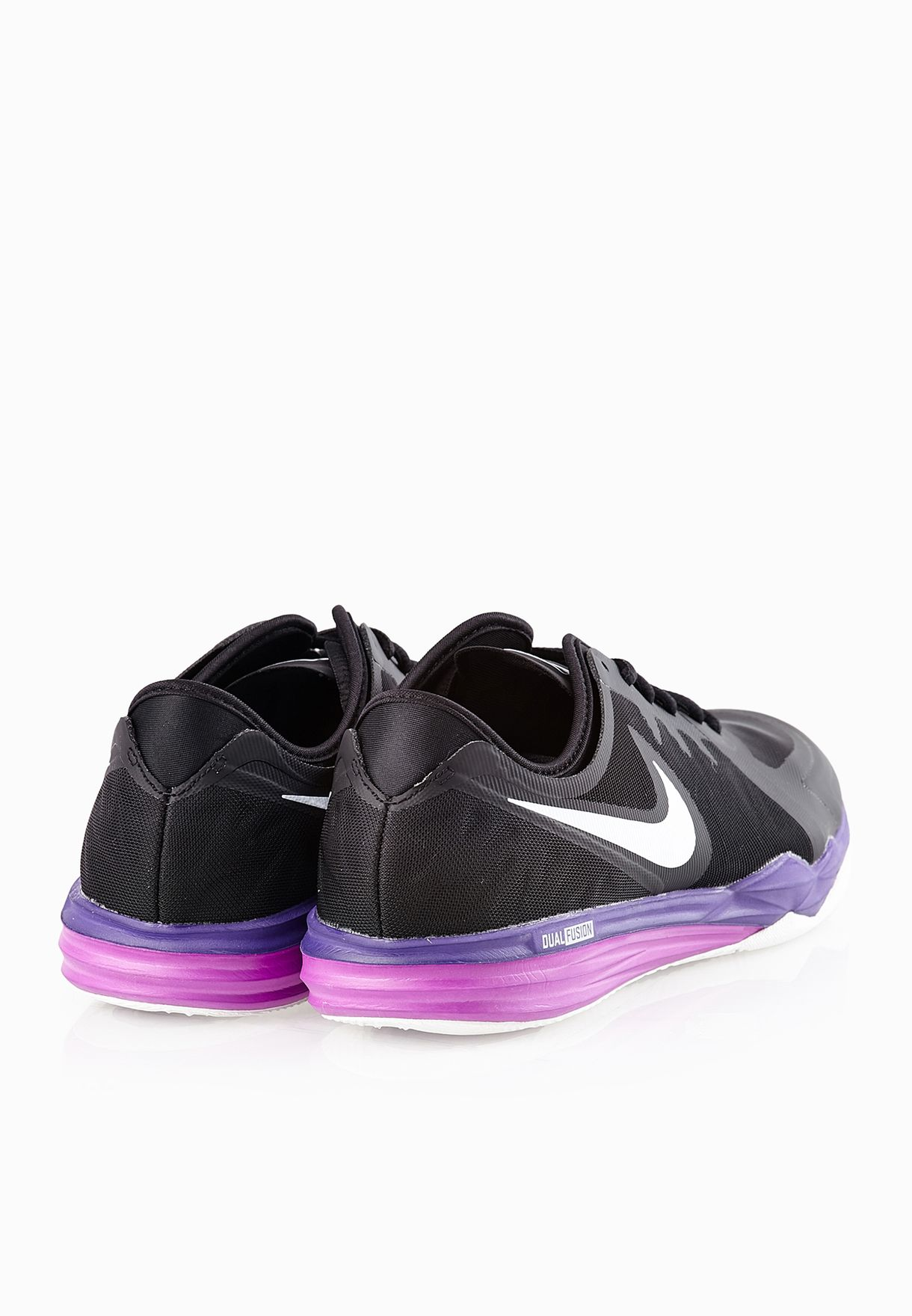 7aa2f7ef32da Shop Nike black Dual Fusion Tr 3 704940-012 for Women in Saudi ...