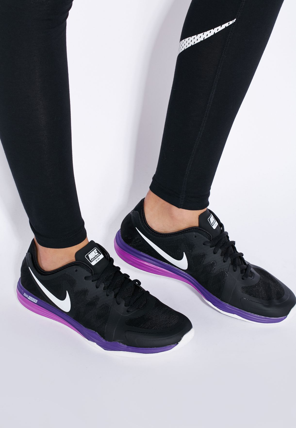 aa968525df25 Shop Nike black Dual Fusion Tr 3 704940-012 for Women in UAE ...