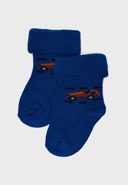 Infant Printed Socks
