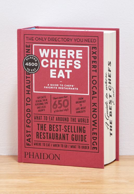 Where Chefs Eat Book - III Version