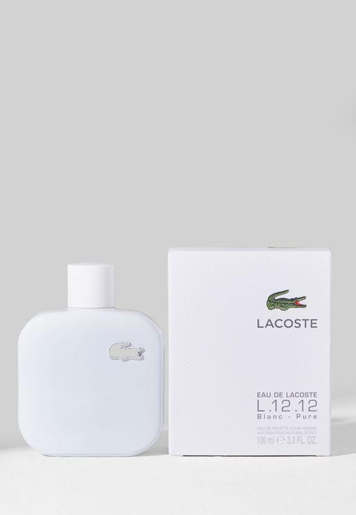 Lacoste Eau L.12.12 Blanc 100ml EDT