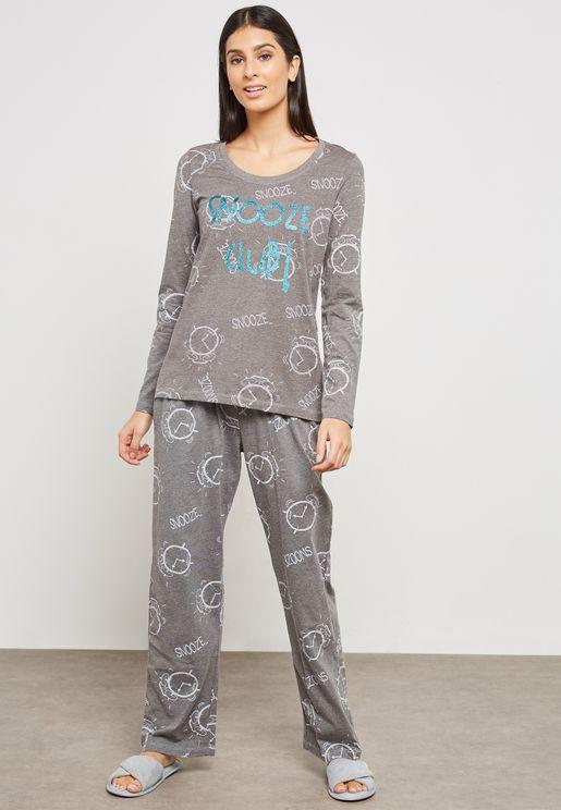 Alarm Pyjama Set