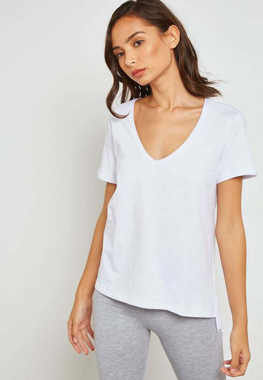 Essential V Neck T-Shirt