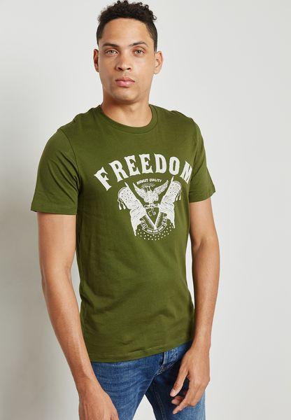 Orbit Print T-Shirt