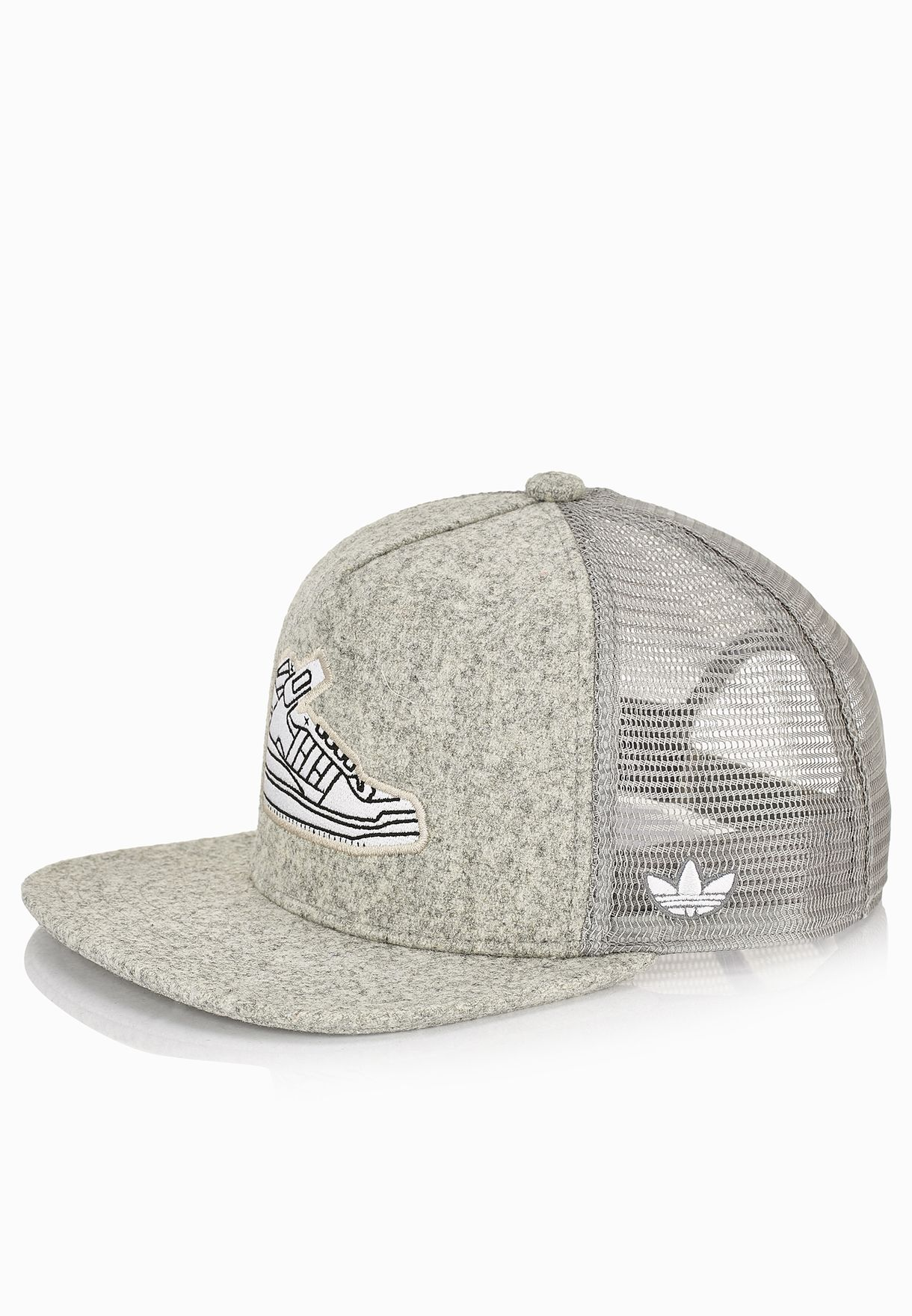 Shop adidas Originals grey Trucker AY9394 for Men in UAE - AD478AC92IFJ 7b828b8a1ae