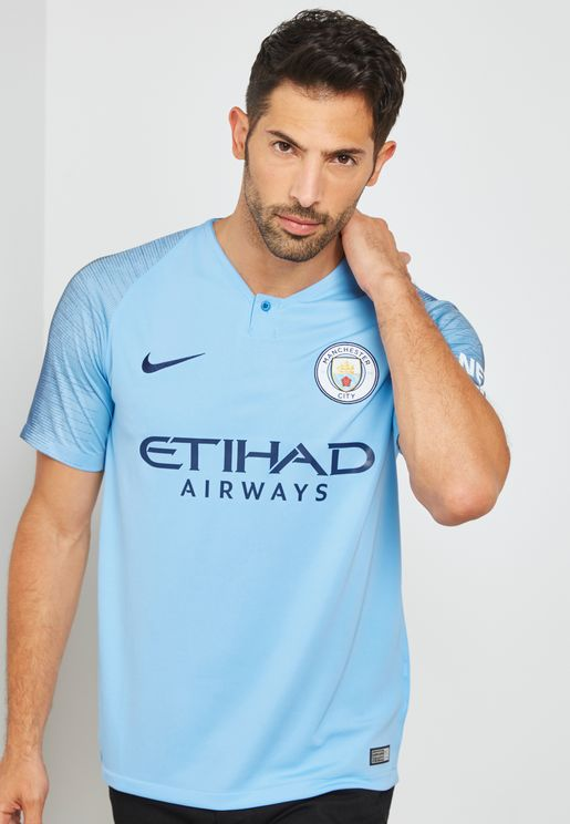 Manchester City 18/19 Stadium Home Jersey