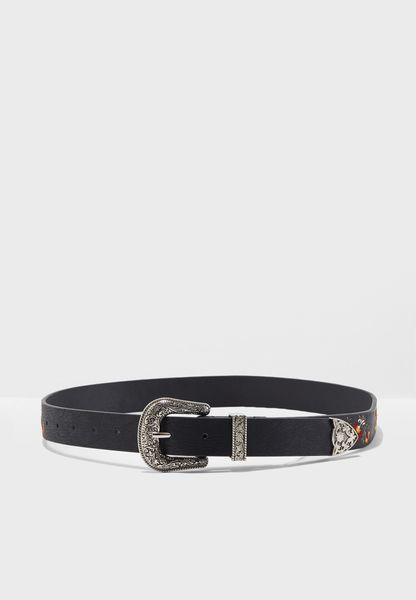 Tara Embroidered Belt