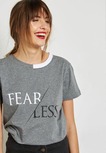Slogan Knitted T-Shirt