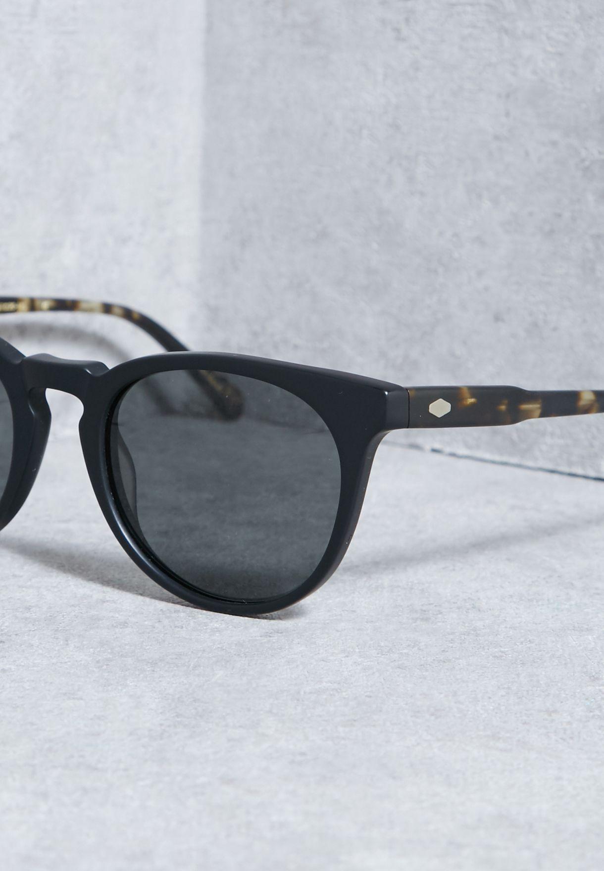 fcbc67a17 تسوق نظارة شمسية بشعار الماركة ماركة راين لون أسود في البحرين ...