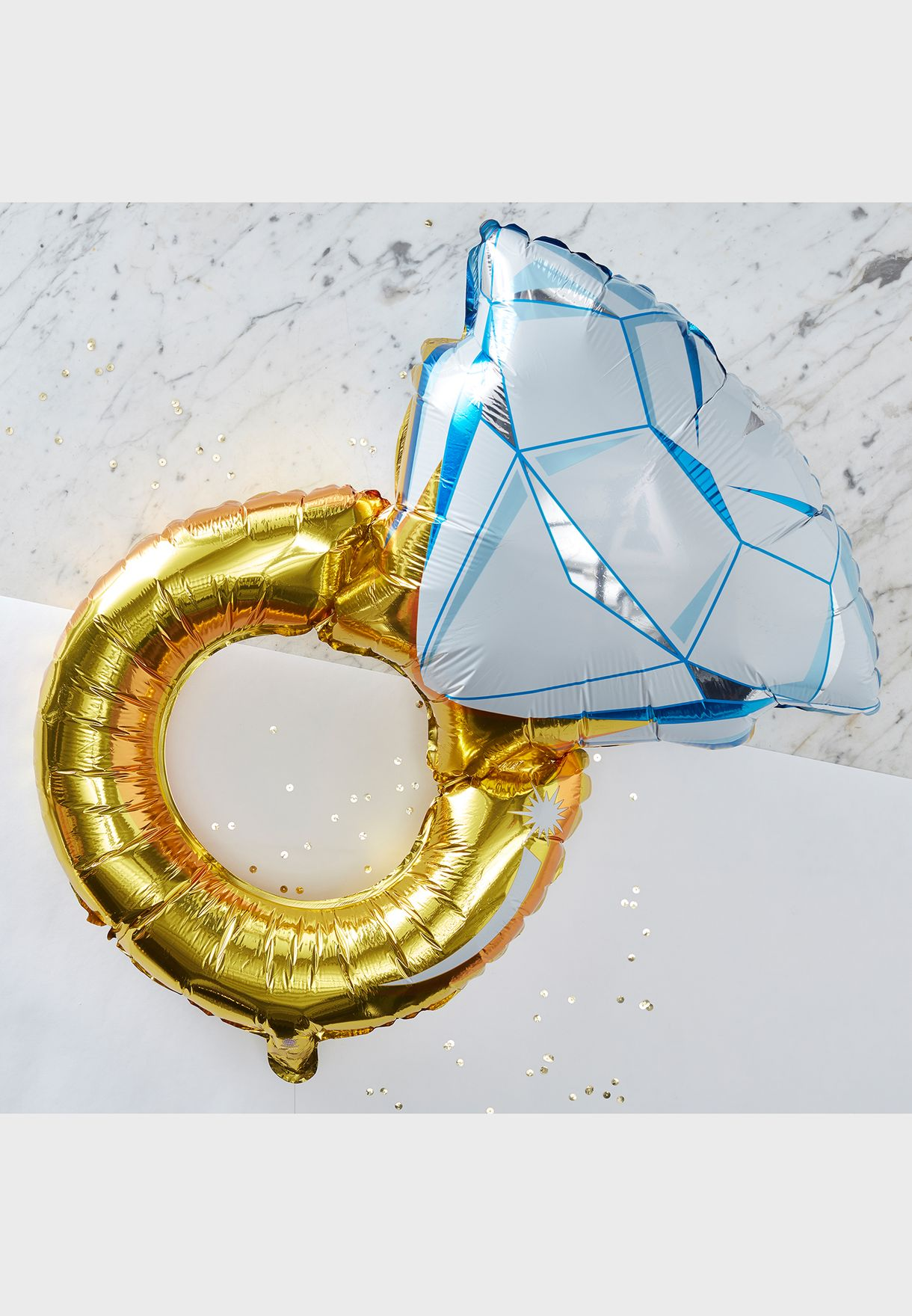 """32"""" Foiled Ring Balloon"""