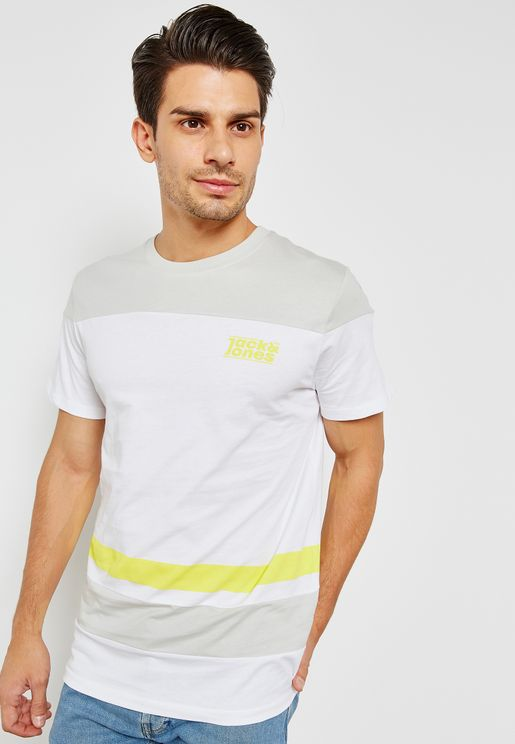 Loop Colourblock T-Shirt