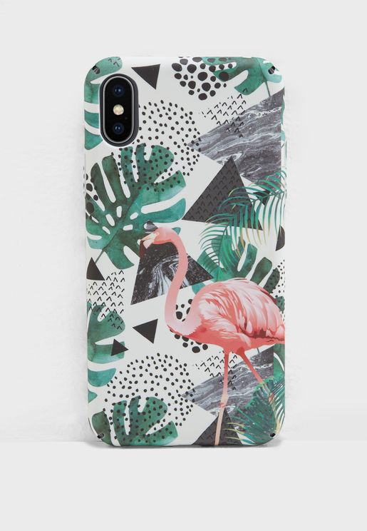 Flamingo iPhone X Case