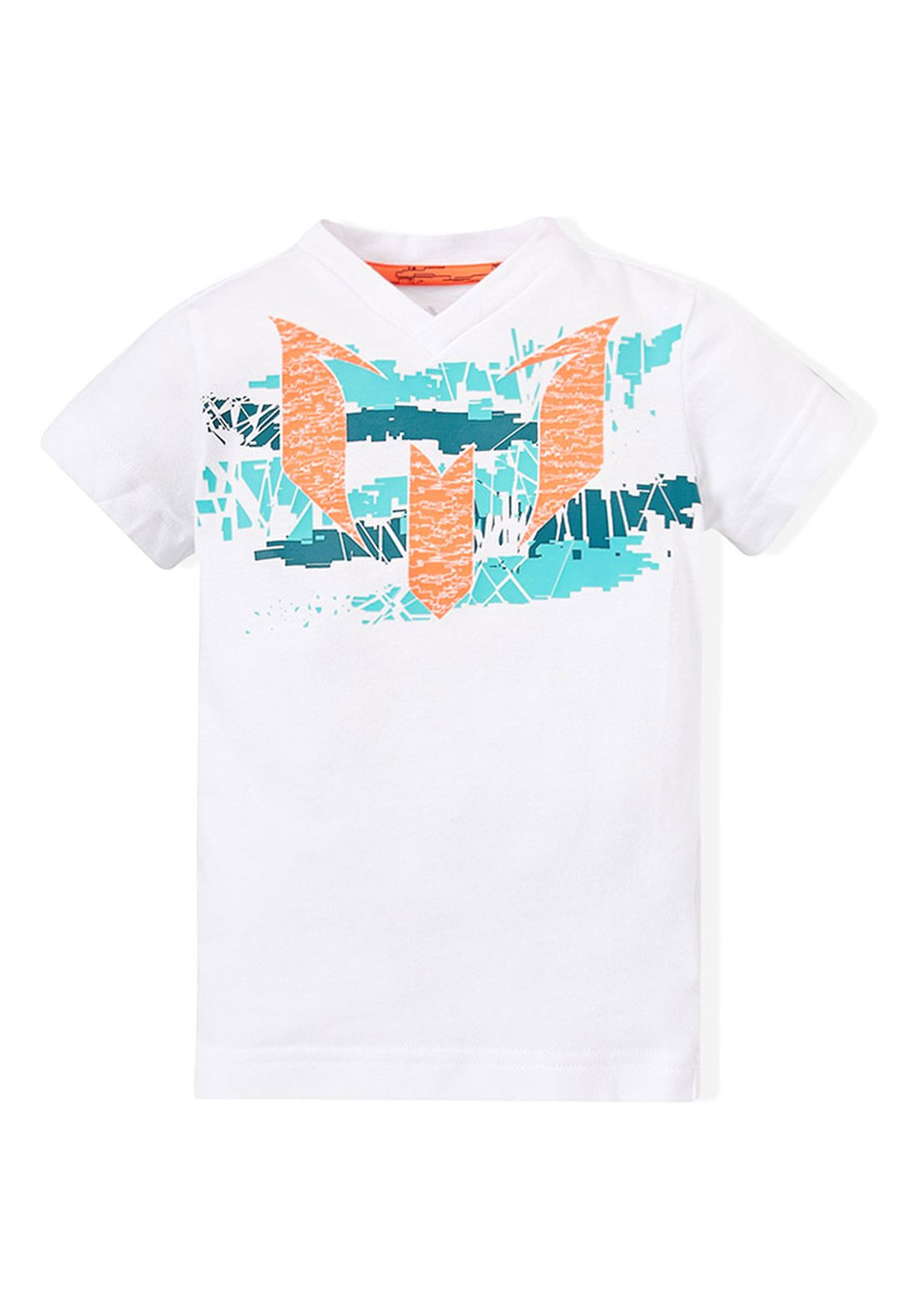 Torpe experimental Accidentalmente  Buy adidas white Messi T-Shirt for Kids in MENA, Worldwide | S86339