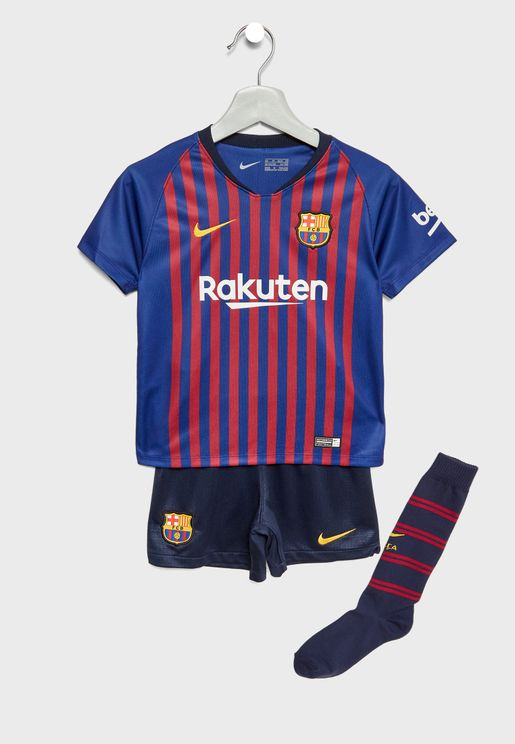 Youth FC Barcelona 18/19 Home Kit